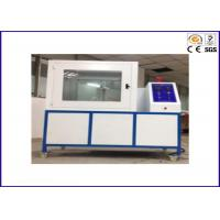 Wholesale PLC Module Flammability Testing Equipment For Thermal Insulation Materials ISO 8142 from china suppliers