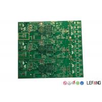 Wholesale High Density Electronic Circuit Board , Battery Charger PCB Board Green Solder Mask from china suppliers