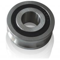 Buy cheap Budget LFR50/8 NPP Track Roller Bearings with U Groove 8x24x11mm with rubber from wholesalers