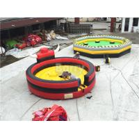 Wholesale Professional Inflatable Sports Games Rodeo Bull / Inflatable Bull Riding Ring from china suppliers