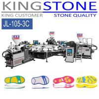 Wholesale Kingstone Machinery Rotary 3 Color PVC TPR Sole Injection Machine from china suppliers