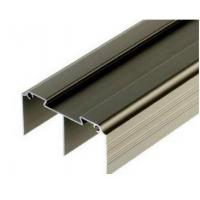 Wholesale Golden / Silver Anodized Profile Aluminum Extrusions For Curtain Wall from china suppliers