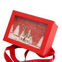 China Cardboard Luxury Paper Gift Box Christmas Packaging Customized Size on sale