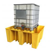 Buy cheap IBC Tank Storage Safety Spill Pallet, PE Spill Containments For IBC Tank Storage from wholesalers