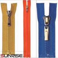 Wholesale competitative price resin color plastic zippers for bags from china suppliers
