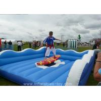 Wholesale Children Inflatable Sports Games Mechanical Surf Simulator For Advertising from china suppliers
