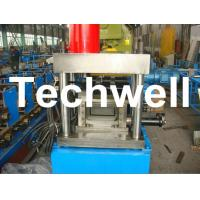 Wholesale U Shaped Channel Purlin Roll Forming Machine With 1.5 - 3.0mm Thickness TW-U100 from china suppliers