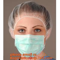 Wholesale Medical grade protect dust face mask disposable 3 ply paper mask,non-woven face mask in general medical Individual Packi from china suppliers