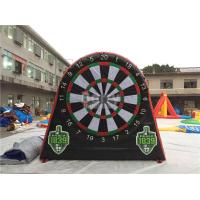 Wholesale Kids And Adults Giant Inflatable Golf Dart Boards / Inflatable Dart Game from china suppliers