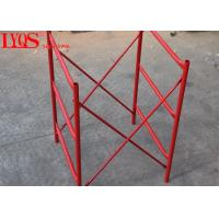 Buy cheap Acrow Shoring H Frame Scaffolding System Powder Coated With Height 1800mm from wholesalers