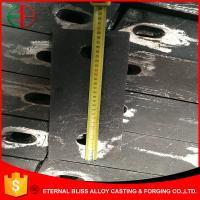 Wholesale HBW555XCr16 High Chrome 20mm Thick Wearing Plates Lining Board EB11024 from china suppliers