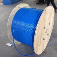 Wholesale PVC Sheath Armoured Fiber Optic Cable Mining Flame Retardant MGTSV G652d Stranded from china suppliers