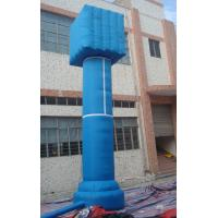 Wholesale Red / Blue Outdoor Celebration PVC Inflatable Advertising Column for Event from china suppliers