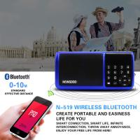 Wholesale Bluetooth Hifi portable mp3 music player speaker with FM radio from china suppliers