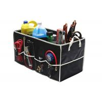 Wholesale Fully Collapsible Trunk Organizer Black Color , Trunk Storage Organizer from china suppliers
