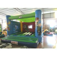 Wholesale Attractive Blow Up Jump House 0.55mm Pvc , Outdoor Games Toddler Bounce House from china suppliers