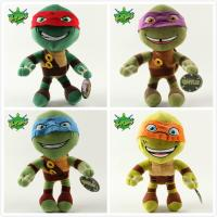 China Teenage Mutant Ninja Turtles 2 Cartoon Stuffed Kids Plush Toys 12 inch on sale