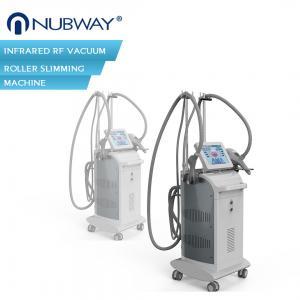Buy cheap Fast effective!!!body shaping  vacuum rf slimming machine infrared RF Vacuum roller machine from wholesalers