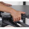 36 Adjustable Stand Up Desk, Desktop Standing Desk With Pvc Lamination for sale