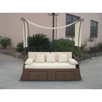 Wholesale Balcony Outdoor Rattan Daybed from china suppliers