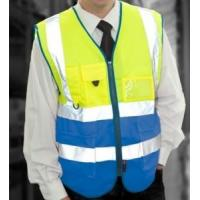 Wholesale En471 Class 1 Superior Waistcoat /Safety Vest from china suppliers
