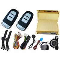 Buy cheap Car Ignition Start Button Car Alarm Security System , RFID Emergency Unlock Feature from Wholesalers