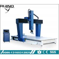 China Industrial 5 Axis CNC Router Machine For EVA / PE / Foam / Plywood Working on sale