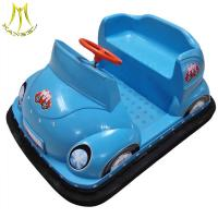 China Hansel  kids plastic indoor / outdoor playground used bumper cars for sale portable bumper cars on sale