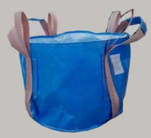 Buy cheap Two Loop Blue Food Grade FIBC Circular FIBC Bag With 4 Lifting UV Treated from wholesalers