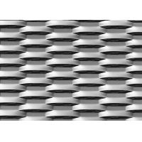 China Grill Expanded Metal Mesh Cladding Galvanized Steel Wire Material for sale