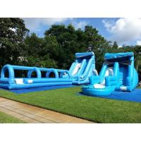 Wholesale Ultimate Wave Huge Inflatable Water Slides Childrens Kidwise Water Slide Bounce House from china suppliers