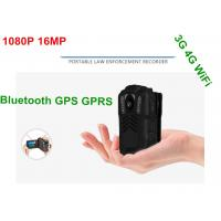 Wholesale Battery Operated HD Wifi Body Camera , Police Personal Body Video Camera from china suppliers