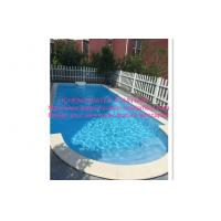 China Swimming Pool Control System Above Ground Automatic Swimming Pool Cover Blue on sale