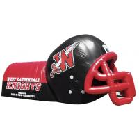 Wholesale Amazing Inflatable Sports Games Blow Up Helmet Tunnel With  0.55mm PVC from china suppliers