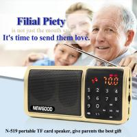 Wholesale Personal LED Flashlight HIFI Portable FM Radio Digital Music Mp3 Player Speaker Support SD/TF Card/USB from china suppliers