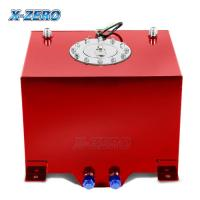 Wholesale Red 5 Gallon Aluminum Fuel Cell Tank Polished Surface With Street Race Drift Type from china suppliers