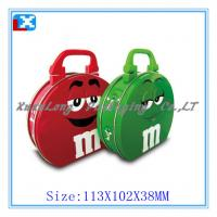 Wholesale lunch tin box with plastic handle for kids from china suppliers