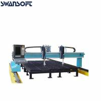 Wholesale High Definition Precision Light CNC Gantry Type Plasma Flame Cutting Machine Plasma Cutter from china suppliers
