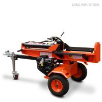 Wholesale Horizontal Firewood log splitter 22 Ton gasoline engine 6.5HP four strokes from china suppliers