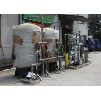 Wholesale 10T/H Ion Exchange Water Treatment System For Drinking Water / Milk / Beverage from china suppliers