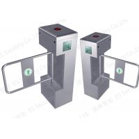 Quality ID IC Card Reader Swing Barrier Gate Entrance Control Turnstile Solution for sale