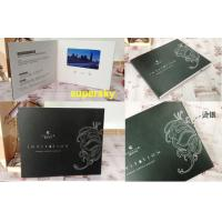 Wholesale Digital Lcd Media Video Booklet Lcd Video Greeting Card With Wifi / Touch Screen from china suppliers