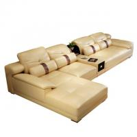 China New Style modern germany living room genuine leather sofa set furniture on sale