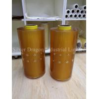 China PVC Cling Film with holes for mushroom Packing (Size 16microns x 380mm x 1524m) for sale