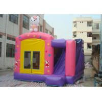 Quality Fire Resistant Inflatable Combo 4 In 1 Combo Bounce House With Slide for sale