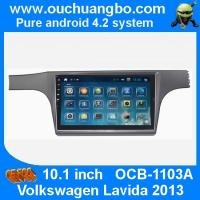Wholesale Ouchuangbo android 4.2 VW Lavida 2013 dvd radio stereo navigation with 10.1 inch big screen from china suppliers