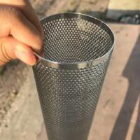 Wholesale Perforated Mesh Screen Filter Tube Cartridge / Cylindrical Metal Mesh Filter Screen from china suppliers