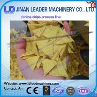 Wholesale Twin screw extruder doritos tortilla chips machine baked and frying type from china suppliers