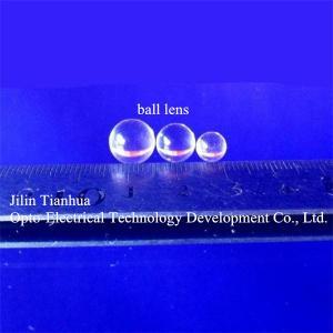 China BK7 Ball Lenses;Fused Silica Ball Lenses,glass ball lens,optical glass lens,half ball lens,optical lenses for sale on sale