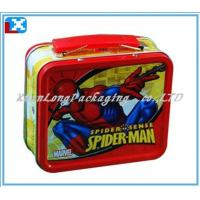 Wholesale tin lunch box with handle from china suppliers